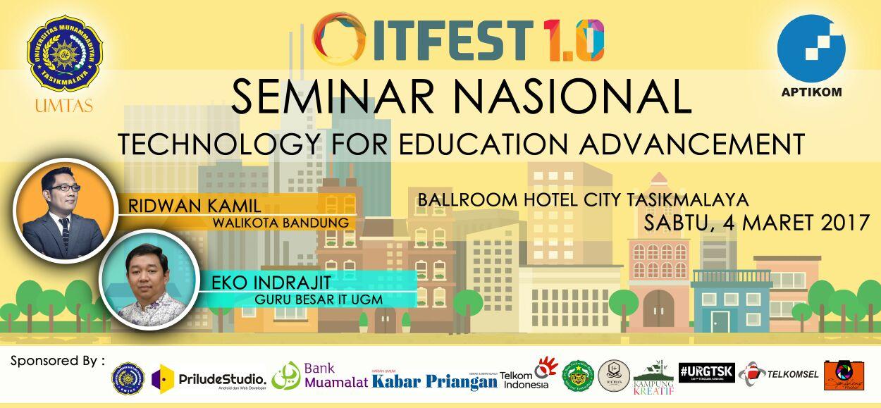 Prodi Pendidikan Teknologi Informasi Sukses Mengadakan Seminar Nasional